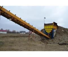 Balastiera 6 ha teren /Statie de sortare agregate de balastiera, fixa (4 sorturi)
