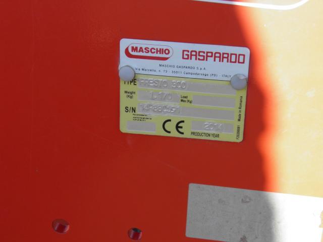 TRACTOR CASE 115A + GRAPA DISCURI PRESTO 300 - 6/10