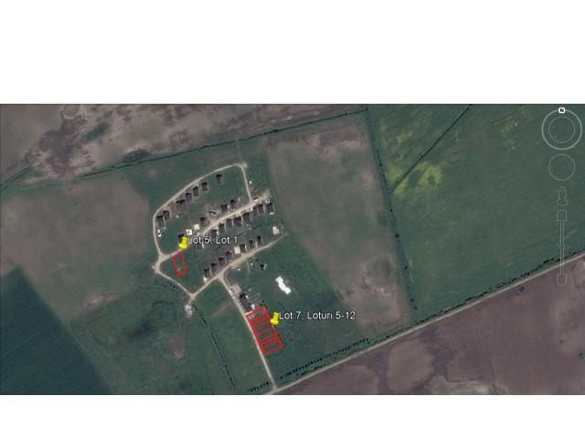 11loturi terenuri intravilane situate in Balotesti - 2/4