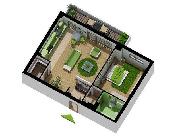 Apartament 2 camere - situat in Compex rezidential Brava-Antiaeriana - 2/3