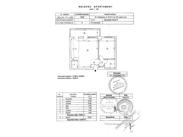 Apartament 2 camere - situat in Compex rezidential Brava-Antiaeriana - 3/3
