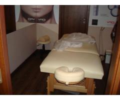 Mese de masaj profesioniste, cadru lemn, piele jolie + accesorii