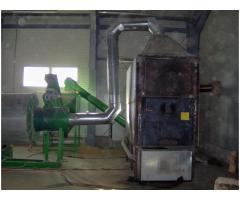 Linie tehnologică pentru fabricare peleți