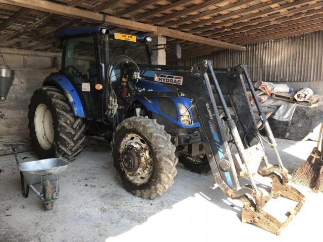 Lichidator judiciar vand Tractor New Holland TD5.105 T3 - 1/3
