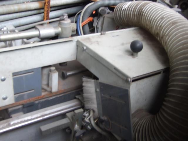 Masina de tâmplărie aluminiu PVC Elumatec si Generator Atlas Copco GA7FA - 2/9