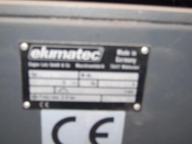 Masina de tâmplărie aluminiu PVC Elumatec si Generator Atlas Copco GA7FA - 5/9