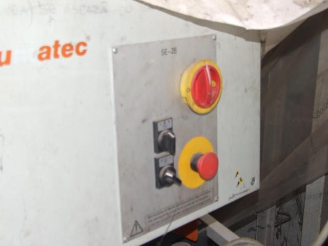 Masina de tâmplărie aluminiu PVC Elumatec si Generator Atlas Copco GA7FA - 6/9