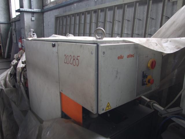 Masina de tâmplărie aluminiu PVC Elumatec si Generator Atlas Copco GA7FA - 7/9