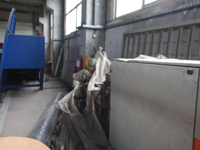 Masina de tâmplărie aluminiu PVC Elumatec si Generator Atlas Copco GA7FA - 8/9