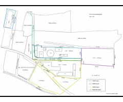 Activ24.1-Teren in suprafață totală de 6.922,46 mp, construcții, amenajări și bunuri mobile aferente