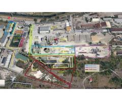 Activ 24.2 - teren  suprafață de 5.717,53  mp, si Activ 3 - Stație preparare asfalt WIBAU