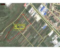 Licitatie vanzare parcele teren Selimbar langa Troita