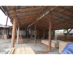 Fosta fabrică de cherestea din Tazlău