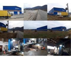 VANZARE FABRICA DE CONSTRUCTII METALICE REALIZATE CU ECHIPAMENTE DE MARE PRECIZIE