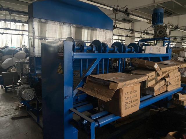 Linie reciclare material textile si presa balotat - 2/3
