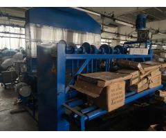 Linie reciclare material textile si presa balotat