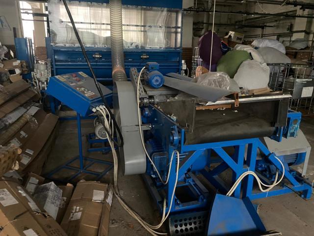 Linie reciclare material textile si presa balotat - 3/3