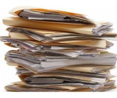 Anunt selectie oferte pentru servicii arhivare documente