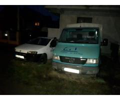 3 auto nefunctionale 2 Fiat Punto, 1 Mercedes Sprinter