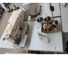 Echipamente tehnologice si utilaje specifice industriei confectii-textile