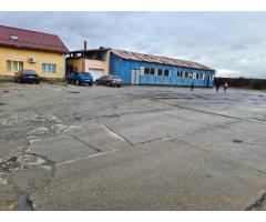 Hala industriala, cladire administrativa si garaj si teren aferent 1633 mp